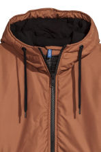 Padded jacket - Light brown - Men | H&M CN 3