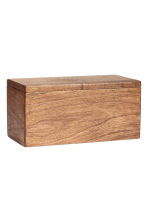 Wooden storage box - Natural - Home All | H&M IE 1