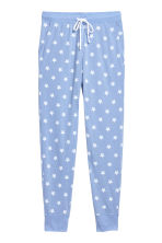 Pyjama bottoms - Light blue/Stars - Ladies | H&M IE 2