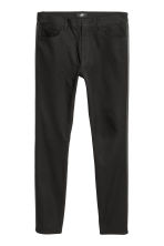 Twill trousers Skinny fit - Black - Men | H&M IE 2