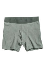 3er-Pack Trunks - Dunkelgrau/Gestreift - HERREN | H&M CH 2