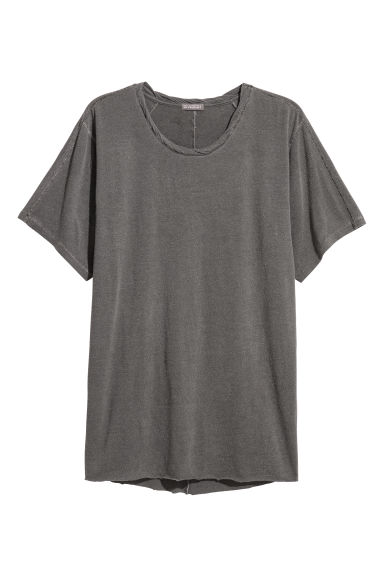 Nepped T-shirt - Grey - Men | H&M