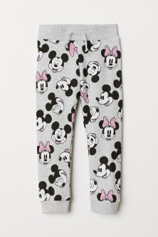 Sweatpants met print