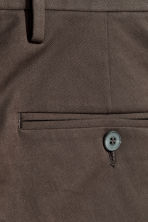 Cotton twill chinos - Dark brown - Men | H&M 4