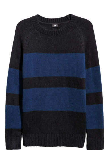 Knitted wool-blend jumper Model