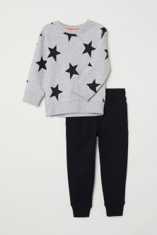 Sweatshirt and trousers
