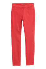 H&M+ Superstretch treggings - Red - Ladies | H&M IE 2