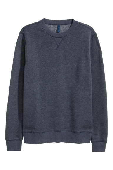 Sweatshirt - Blue-grey - Men | H&M