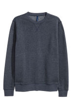 Lightweight sweatshirt - Blue-grey - Men | H&M CN 2