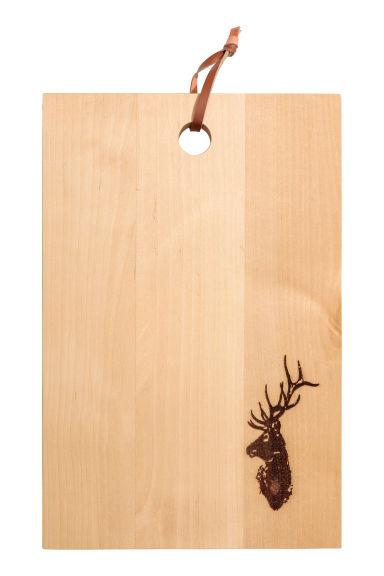 Planche à découper en bois Modèle