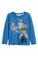 T-shirts en jersey, lot de 2 - Bleu/Lego - ENFANT | H&M BE 3