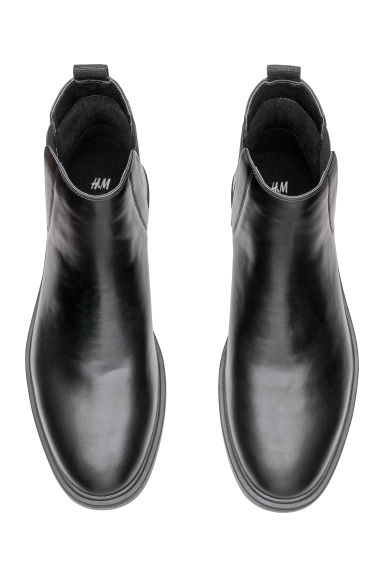 Bottines Chelsea - Noir - HOMME | H&M BE