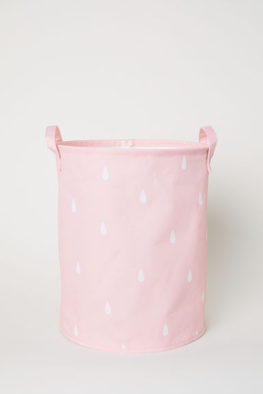 Storage basket - Light pink/Raindrops - Home All | H&M CN