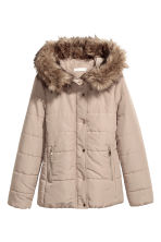 Padded jacket - Beige - Ladies | H&M IE 1