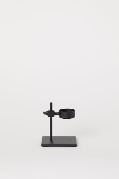 Metal tealight holder - Black - Home All | H&M CN