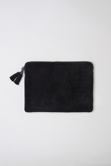 Suede laptop case 13""