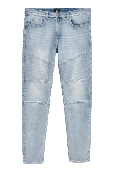 Skinny Biker Jeans - Blu denim chiaro -  | H&M IT