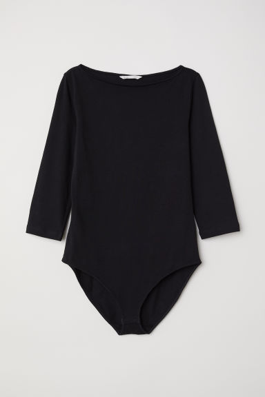 Body in jersey - Nero - DONNA | H&M IT