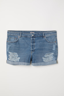 H&M+ Denim short