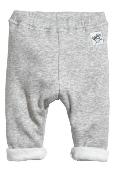 Joggers - Light grey marl - Kids | H&M GB