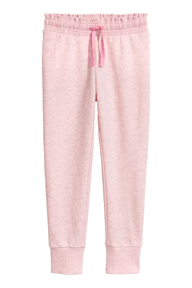 Joggers - Light pink marl - Kids | H&M CN