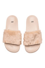 Chaussons - Beige clair - FEMME | H&M CA 2