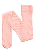 2-pack ribbed tights - Dark blue/Pink - Kids | H&M CN 3