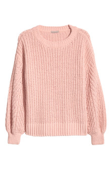 H&M+ Ribbed jumper