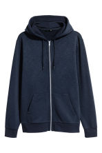 Hooded jacket Regular fit - Dark blue - Men | H&M CA 2