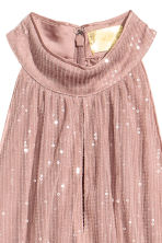 Sequined dress - Dark powder pink - Ladies | H&M CN 3