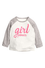 Jersey y joggers - Rosa/Girl Power -  | H&M ES 1