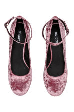Round-heeled court shoes - Vintage pink - Ladies | H&M IE 2
