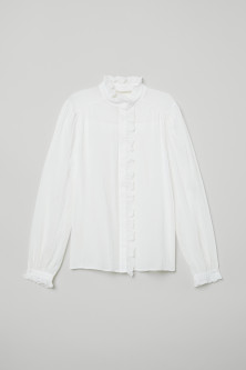 Airy Ruffled Blouse