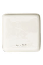 Porcelain serving dish - White - Home All | H&M CN 1