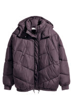 Padded jacket - Dark purple - Ladies | H&M CN 2