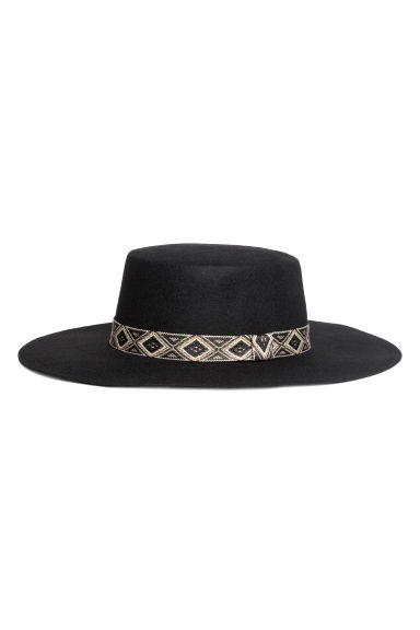 Wool hat - Black - Ladies | H&M
