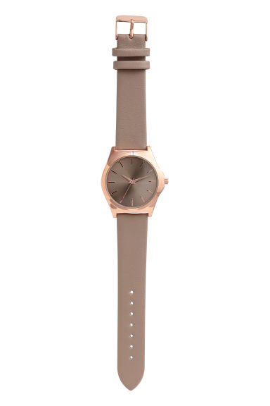 Watch - Mole/Rose gold-coloured - Ladies | H&M GB