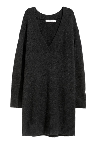 Long jumper - Dark grey - Ladies | H&M
