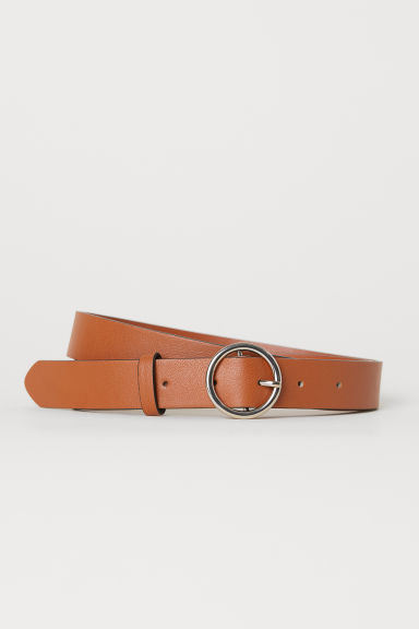 Belt - Light cognac brown - Ladies | H&M CN