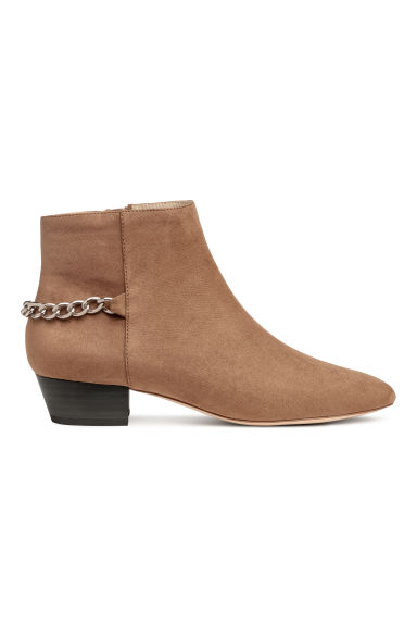 Ankle boots - Camel - Ladies | H&M GB