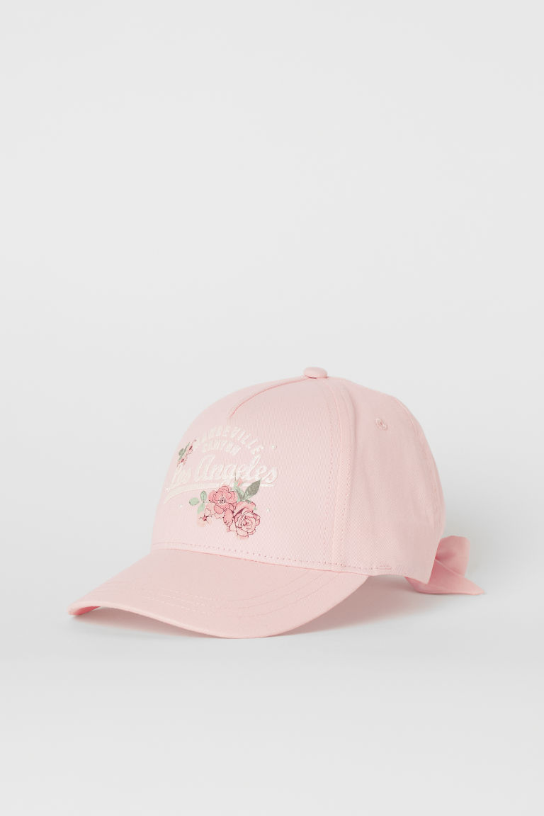 Cotton Cap with Bow