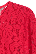 H&M+ Lace blouse - Bright red - Ladies | H&M CN 3