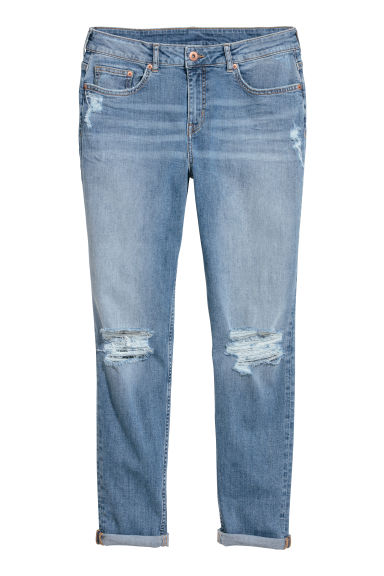 Boyfriend Slim Low Jeans Modèle