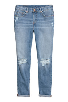 Boyfriend Slim Low Jeans