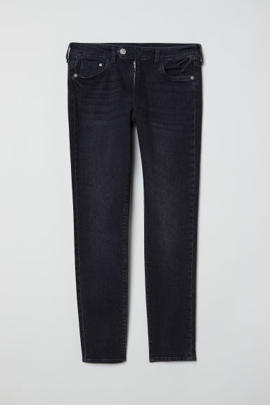 Skinny Regular Ankle Jeans - Black denim -  | H&M CN