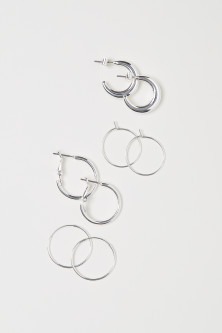 4 Pairs Small Earrings