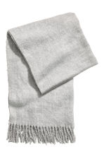 Large scarf - Light grey - Ladies | H&M CN 1