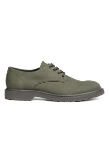 Canvas Derby shoes