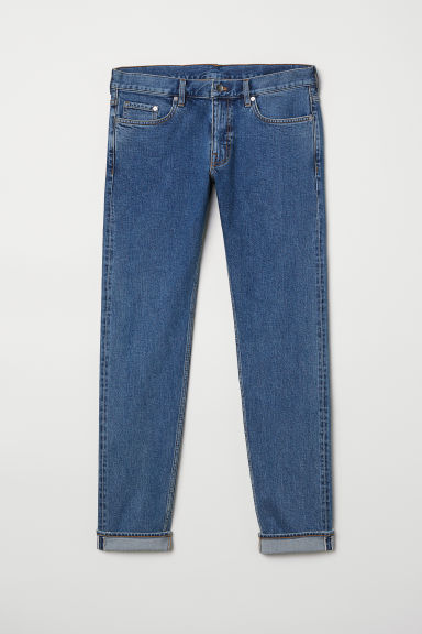 Slim Selvedge Jeans Model