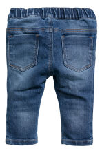 2-pack denim leggings - Denim blue/Black - Kids | H&M CN 4